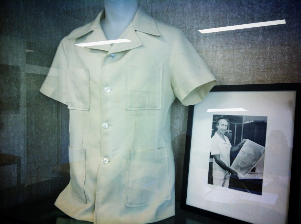 Don Dunstan's safari suit